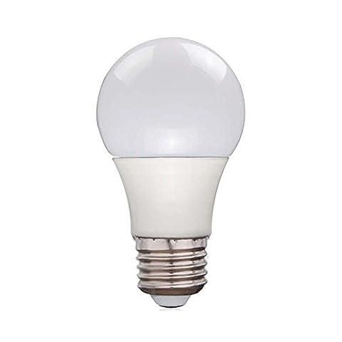 Balle de golf Globe ampoule LED E27économie d'énergie Culot à vis Edison Lampe non Dimmable Angle intérieur Salle à manger salon chambre salle de lecture d'éclairage, 15W Natural White