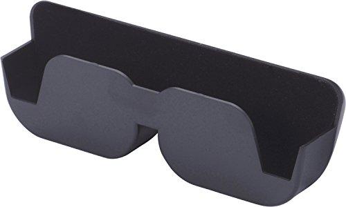 Preisvergleich Produktbild hr-imotion gepolsterte, selbstklebende Brillenablage [Made in Germany | Polsterung: Weicher Filzstoff] - 10510401