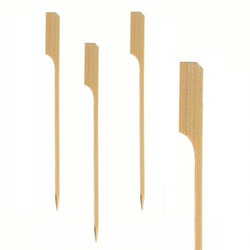 150 Grill-Spieße 25 cm aus Bambus.