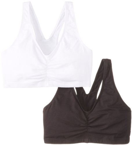 hanes-womens-comfort-blend-flex-fit-pullover-bra-pack-of-2black-whitexx-large