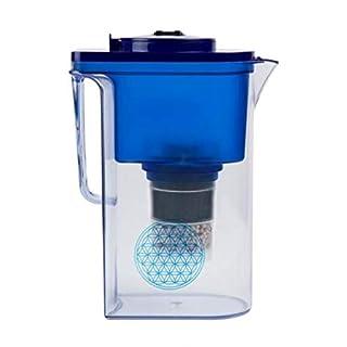 Wasserfilter AcalaQuell® Wassetto | Blau | Höchste Filterleistung | Aktivkohle | Kreiert köstlich schmeckendes, wohltuendes Wasser
