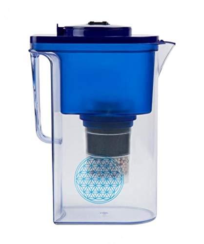 Wasserfilter AcalaQuell® Wassetto   Blau   Höchste Filterleistung   Aktivkohle   Kreiert köstlich schmeckendes, wohltuendes Wasser
