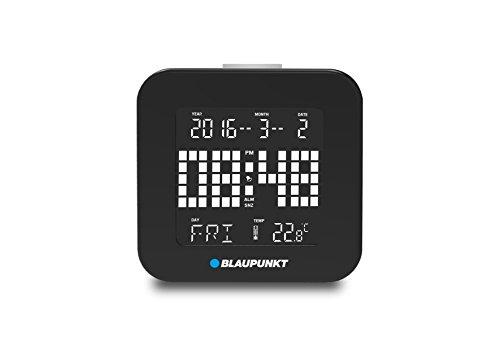Blaupunkt CL 20 BK - Reloj Despertador multifunción