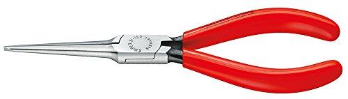 KNIPEX 31 11 160 Greifzange (Nadelzange) schwarz atramentiert mit Kunststoff überzogen 160 mm