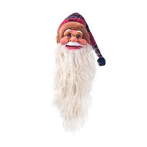 Tensay Netter Weihnachtsmann in einem Hut Rotwein Flaschenmund Multifunktionale Champagner Bier Vakuumverschluss Flaschenverschlüsse Dekoration Christbaumkugel Wohnkultur