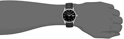 Frederique Constant fc303b5b6–Wristwatch Men's, Leather Strap Black
