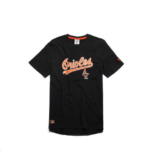 New Era Baltimore Orioles Cooperstown MLB T-Shirt Schwarz, L Orioles Cooperstown Collection