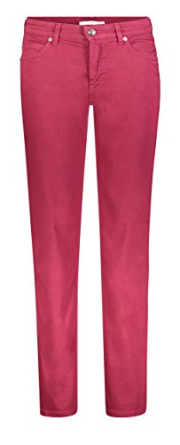 MAC JEANS Damen Skinny Melanie, Rot (Rubin Red 458r), W42/L30