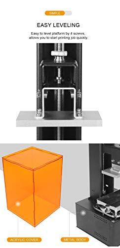 Orange 10 LCD 3D-Drucker Longer SLA Intelligente Unterstützung Schnelles Schneiden von UV-Licht aushärtendem UV-Harz 3D Drucker - 4