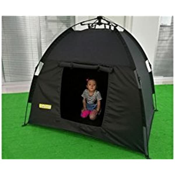 pop up sensory dark tent