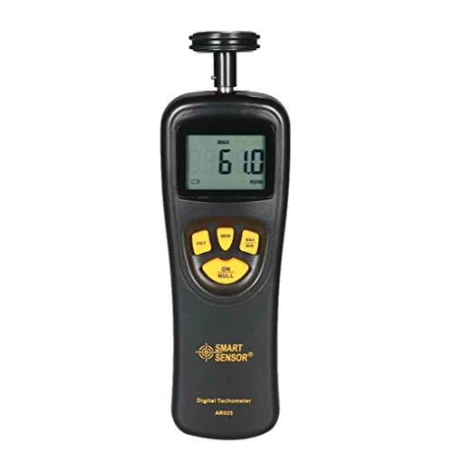 PRENKIN SMART Sensor AR925 Digital-Tachometer 0,05~19999.9m / min 0.5~19999RPM Speedometer Kontakt Motor RPM Meter