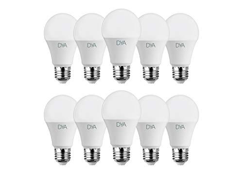 SET 10 LAMPADINE - GOCCIA LED 10W - E27 - 980 LUMEN - LUCE NATURALE 4000K°