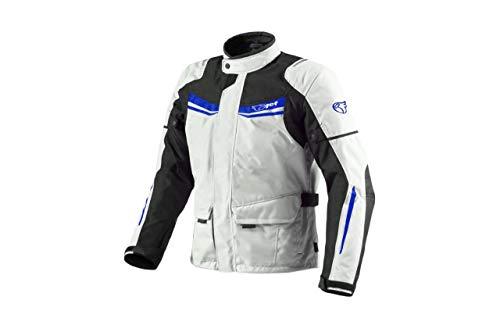 JET Chaqueta Moto Hombre Textil Impermeable con Armadura Aquatex (M (EU 48-50),...