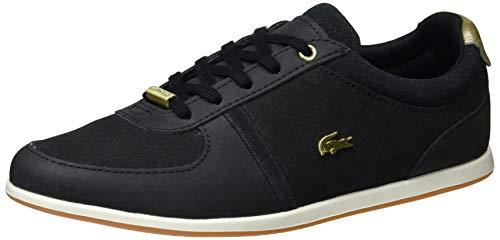 Lacoste Damen Rey Sport 119 2 Cfa Sneaker Schwarz (Blk/Gld 1v7) 38 EU