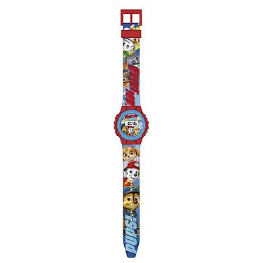Paw Patrol Unisex-Child Digital Connected Wrist Watch with Plastic Strap PW16268