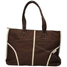 SUPERGA bolso de mano pequeña mujer Colour lona (marrón)