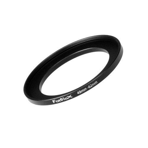 Fotodiox Metall Step Up Ring, eloxiert Schwarz Metall