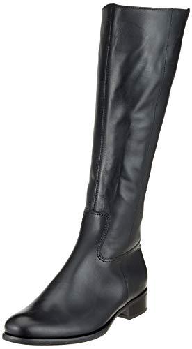 Damen Fashion Stiefel Schwarz (Gabor Shoes Damen Fashion Hohe Stiefel, Schwarz (Glitter) 27, 42 EU)