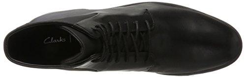 Clarks Londonpace GTX, Caricamenti del Sistema Classici Uomo Nero (Black Leather)