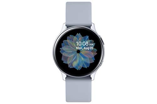 Oferta de SAMSUNG Galaxy Watch Active 2 - Smartwatch de Aluminio, 40mm, Color Plata, Bluetooth [Versión española]