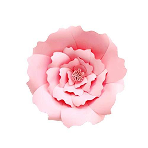 fish 1pcs / 2ST 20cm 30cm DIY Papierblumen-Kinder Foto Hintergrund Künstliche Blumen Hochzeit Geburtstag Party-Ausgangswand-Dekoration