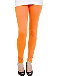 b4e8818651e TARSI Women Skin Fit Lycra Chudidar Leggings (Ch12  P Light Orange Z)