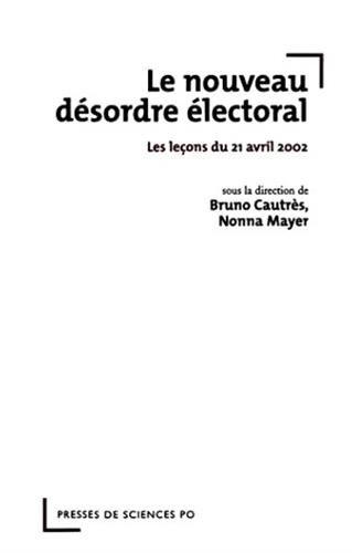 Le nouveau désordre électoral par Cautres