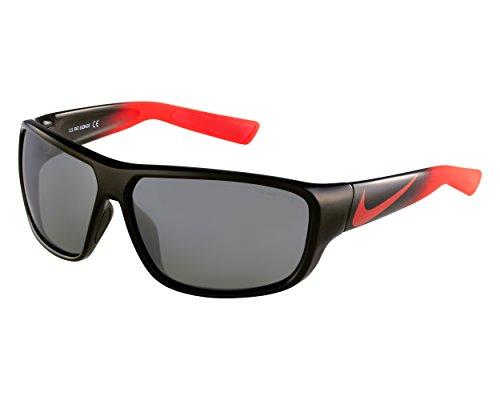 Nike Herren Sonnenbrille Vision Mercurial 8.0 black/challenge red fade