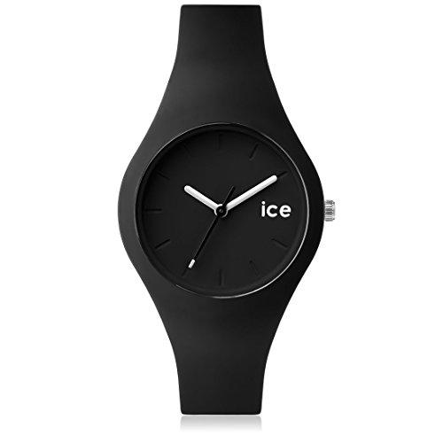 Ice-Watch - ICE ola Black - Schwarze Damenuhr mit Silikonarmband - 000991 (Small)