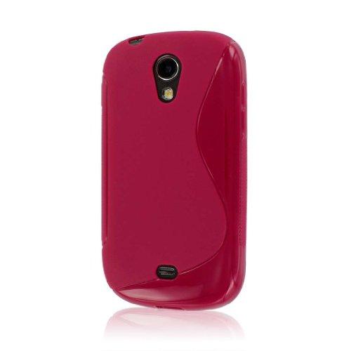 MPERO Flex S-Serie Schutzhülle für Samsung Galaxy Light T399-Hot Pink (T399 Für Samsung Cover)
