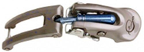 Silber Schnalle Stiefel (Ski-Stiefel Schnalle Safine - silber/blau, Größe INTERSPORT:1)