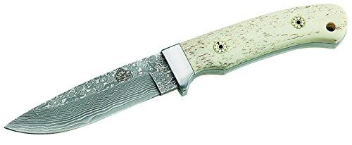 Puma TEC Couteau de Ceinture, Couteau Manche de os Blanc, Multicolore, Taille Unique
