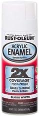 Rust-Oleum Automotive Acrylic Enamel 2X Spray Paint (Gloss White)