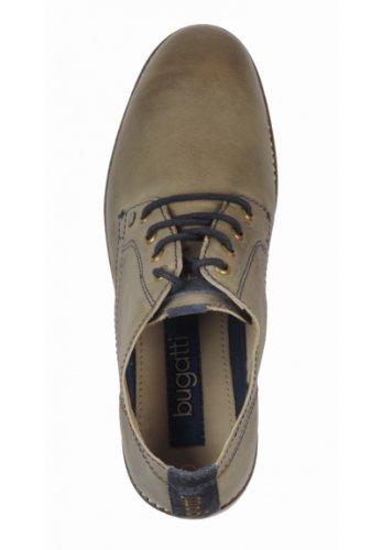 Bugatti Cuero Zapatos Naturales F3331 De 1g r7qwOr