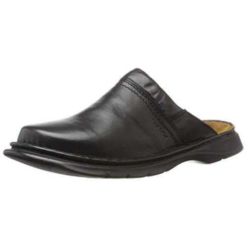 Josef Seibel Max Men Clogs, Genuine Leather Men's Shoes
