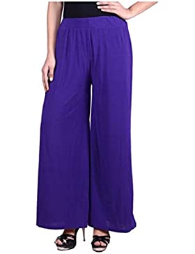 Indian Handicrfats Export Sizzlacious Regular Fit Women's Purple Trousers