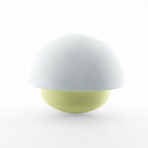 Lovely Tumbler romantischen Pilz Nacht Licht Touch Sensor LED energiesparende Baby warme Nacht Lampe,Gelb (Tesla Braun Schuhe)