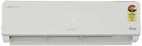 Voltas 1 Ton 4 Star Inverter Split AC (Copper, 124V...