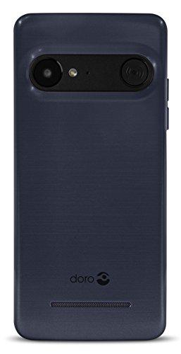 Image of Doro 8035 Smartphone (12,7 cm (5 Zoll) Display, 5MP Kamera, 16GB Speicher) Dunkelblau