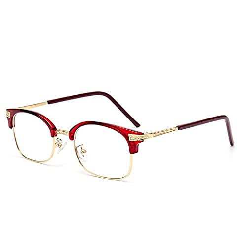 TR90 flat mirror new optical glasses frame spectacles popular retro ladies and men's glasses , 1