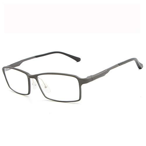 Blaulicht-Schutzbrille Hipster Metallrahmen Leichte UV-Filterlinse, Classic Round für Männer Frauen Anti-Augenbelastung Anti-Blue Ray-Lesebrille für Computer-brown