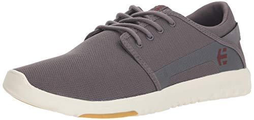 Etnies Herren Scout Sneaker, Grau (Dark Grey/Red 065), 43 EU(9 UK) -