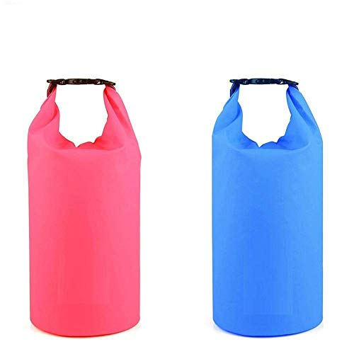 Supreme Mall (Label) Waterproof Fabric PVC 10 Litter Dry Bag for Out of doors, Sports activities, Swimming and Camping (Multi) Image 5