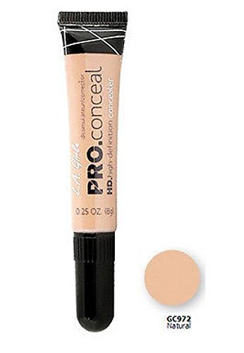 L.A. Girl Pro Conceal HD. High Definition Concealer & Corrector - 972 Natural by L.A. Girl