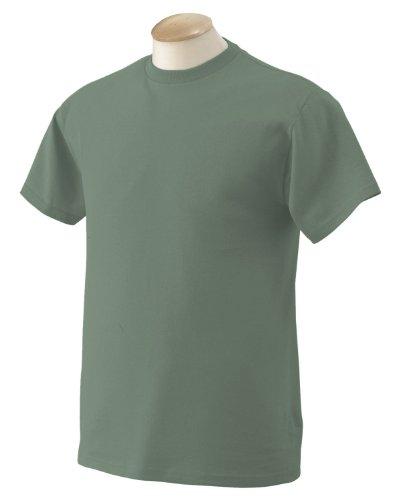 Betende HŠnde auf American Apparel Fine Jersey Shirt Purpurrot