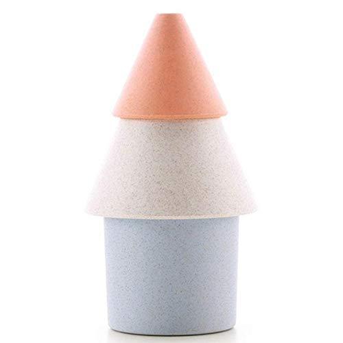 TOOGOO Mini Humidificador de Aire de Pino 250Ml Nebulizador Fabricante de Niebla Mini Humidificador Doméstico USB Portátil para Oficina Coche Casa (Naranja)
