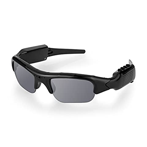 DIGGRO Bluetooth Video Recording Glasses 1080P HD 32GB SD Card Spy Camera Video Recorder & Photograph Sunglasses Polarized Glasses For Hunting Fishing Outdoor Sports