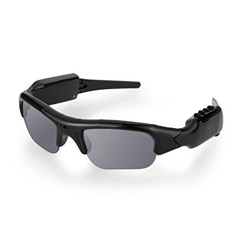 Diggro Gafas de sol de la cámara de grabación de Bluetooth 4.0 1080P HD Video Recorder y Fotografía Gafas Polarizadas Gafas Protectoras de Apoyo Micro 32GB SD Card Para Deportes al Aire Libre