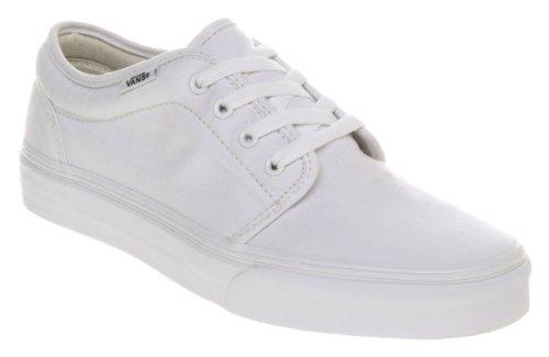 Vans Unisex-Erwachsene 0 Niedrige Sneaker Bianco (True Weiss)
