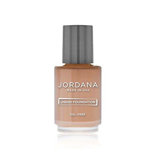 JORDANA Liquid Foundation - Mahogany